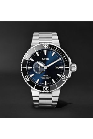 Oris Aquis Small Second Date Automatic 45.5mm Stainless Steel Watch, Ref. No. 01 743 7733 4135-07 8 24 05peb