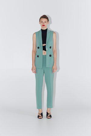 Zara Colete com botões