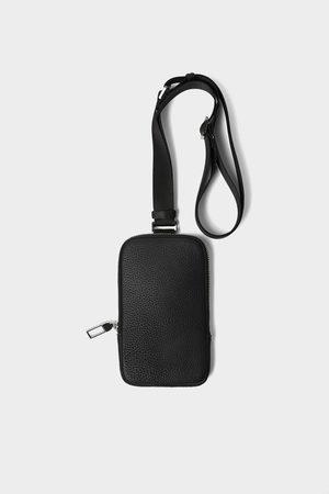 Zara Bolsa para telefone sport preta