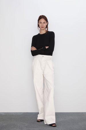 Zara Sweater básica de manga comprida