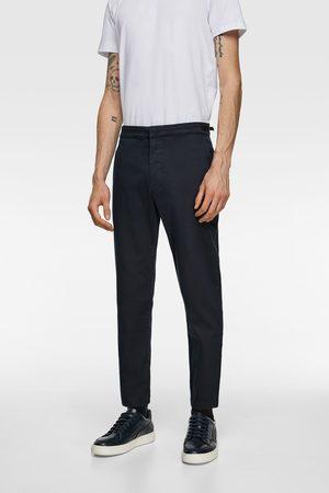 Zara Calças chino soft denim