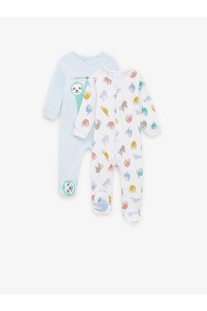 Zara Pack de dois pijamas com preguiçoso
