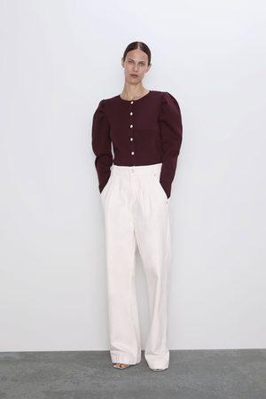 Casaco De Tricô Envolvente Zara
