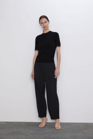 Zara Sweater combinado com tule