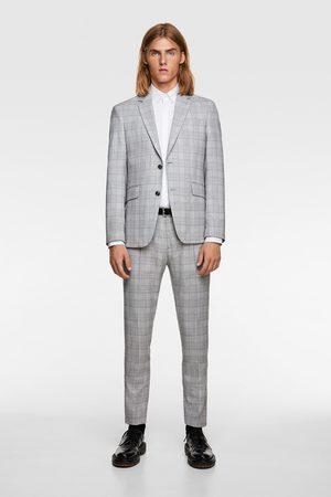 Zara Calças conjunto quadrados