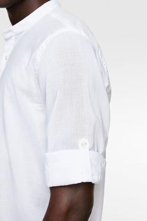 Zara Camisa de manga com presilha