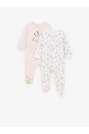 Zara Pack de dois pijamas com girafas