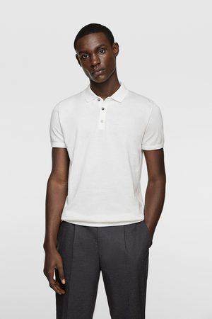 Zara Camisa polo de malha