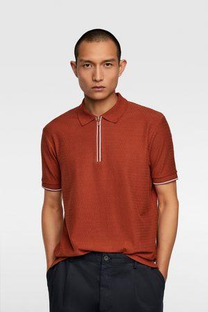 Zara Camisa polo com estrutura
