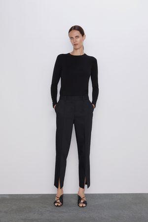 Zara Calças com aberturas