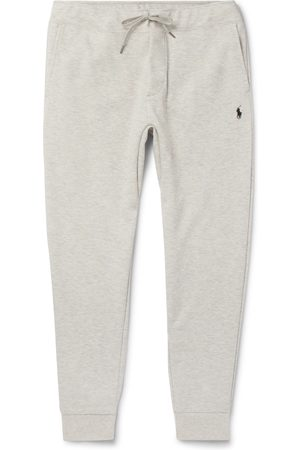 Polo Ralph Lauren Homem Calças Justas - Slim-Fit Mélange Tapered Jersey Sweatpants