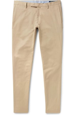 Polo Ralph Lauren Homem Calças Justas - Slim-fit Stretch-cotton Twill Chinos
