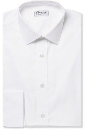 Charvet Homem Formal - Royal Slim-fit Cotton Oxford Shirt