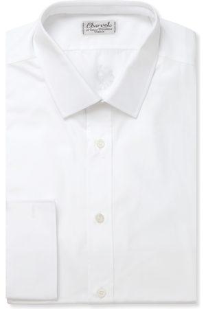 Charvet Homem Formal - Slim-fit Cotton Shirt