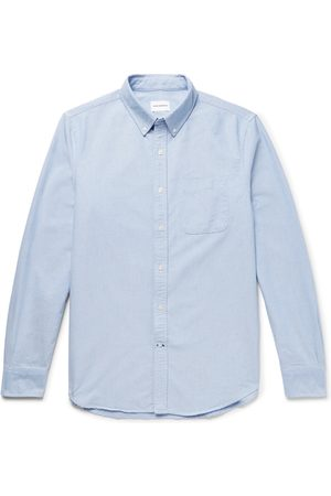 CLUB MONACO Homem Formal - Button-down Collar Cotton Oxford Shirt
