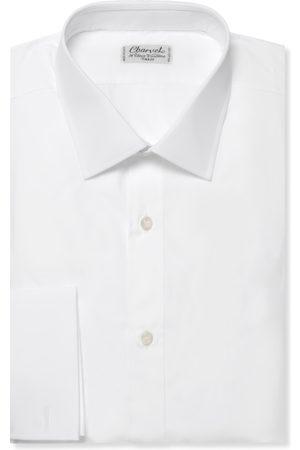 Charvet Homem Formal - Double-cuff Cotton Shirt