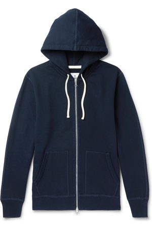 Reigning Champ Homem Camisolas com capuz - Loopback Cotton-Jersey Zip-Up Hoodie