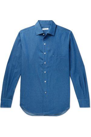 Loro Piana Homem Casual - Andre Cotton-chambray Shirt