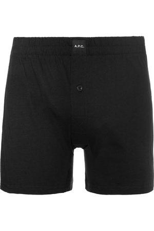 A.P.C Cotton-jersey Boxer Shorts
