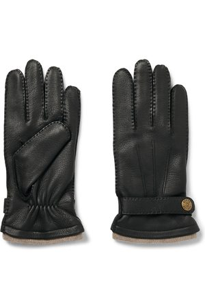 Dents Homem Luvas - Gloucester Cashmere-lined Leather Gloves