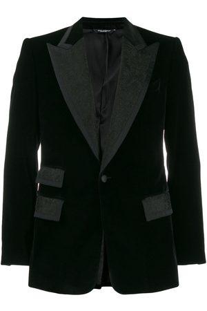 Dolce & Gabbana Contrast lapel blazer jacket