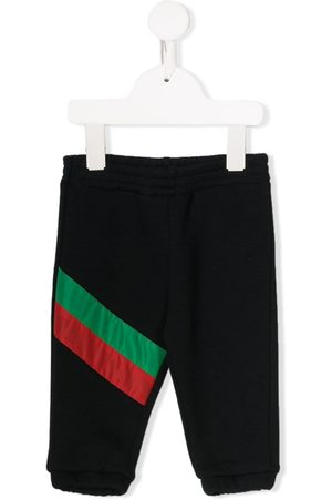 Gucci Stripe detailed jogging trousers