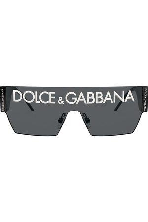 Dolce & Gabbana Eyewear Homem Óculos de Sol - Chunky logo sunglasses