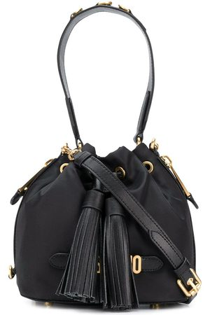 Moschino Logo bucket bag