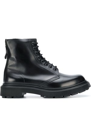 ADIEU PARIS X Etudes lace-up boots