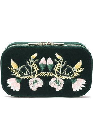 Wolf Floral jewellery box