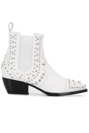 Philipp Plein Low cowboy boots