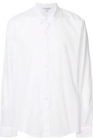 James Perse Homem Formal - Buttoned cotton shirt