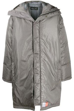 MARTINE ROSE Hooded padded coat