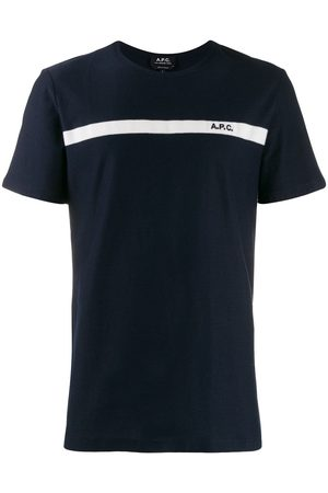 A.P.C Contrasting stripe T-shirt