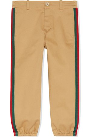 Gucci Web side stripe trousers