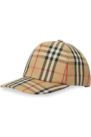 Burberry Checked cap