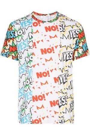 Comme des Garçons Yes No print T-shirt