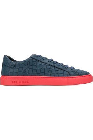 HIDE&JACK Low-top croc-effect sneakers