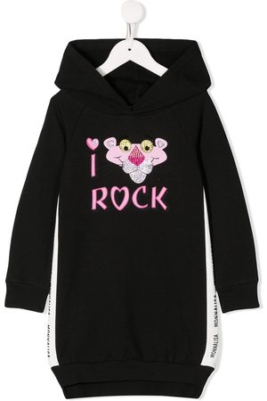 MONNALISA Pink Panther hooded dress