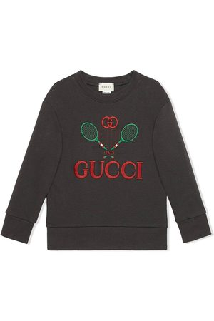 Gucci Menino Camisolas com capuz - Logo embroidered sweatshirt