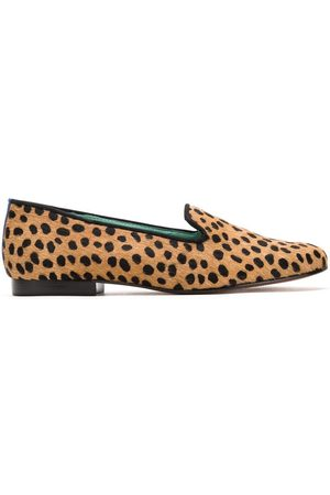 Blue Bird Senhora Oxford & Moccassins - Animal print loafers