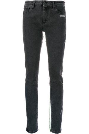 OFF-WHITE Thread trim jeans