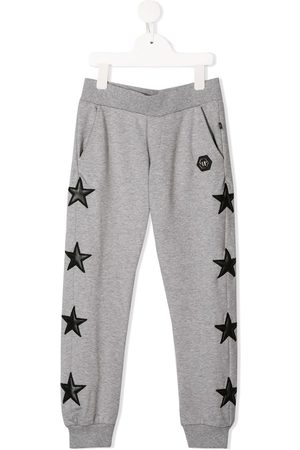 Philipp Plein Star patch track pants