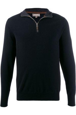N.PEAL Zipped detail sweater