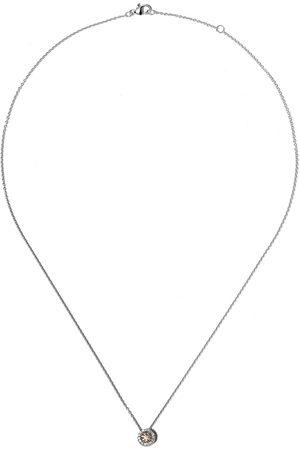 De Beers 18kt Aura fancy coloured diamond pendant necklace