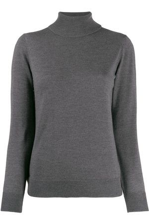 A.P.C Senhora Camisolas - Roll-neck fitted sweater