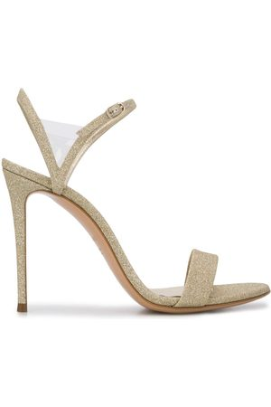 Casadei Glittered 110mm sandals