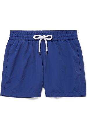 Frescobol Carioca Slim-fit Short-length Swim Shorts