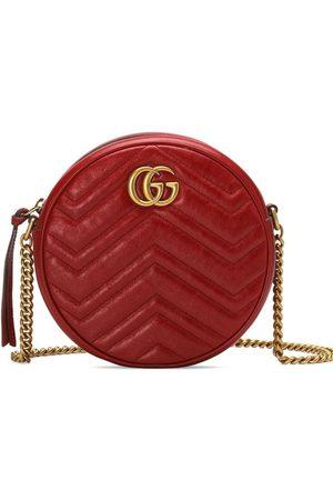 Gucci Senhora Malas à Tiracolo - GG Marmont mini leather round shoulder bag