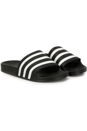 adidas Kids TEEN Adilette striped slides